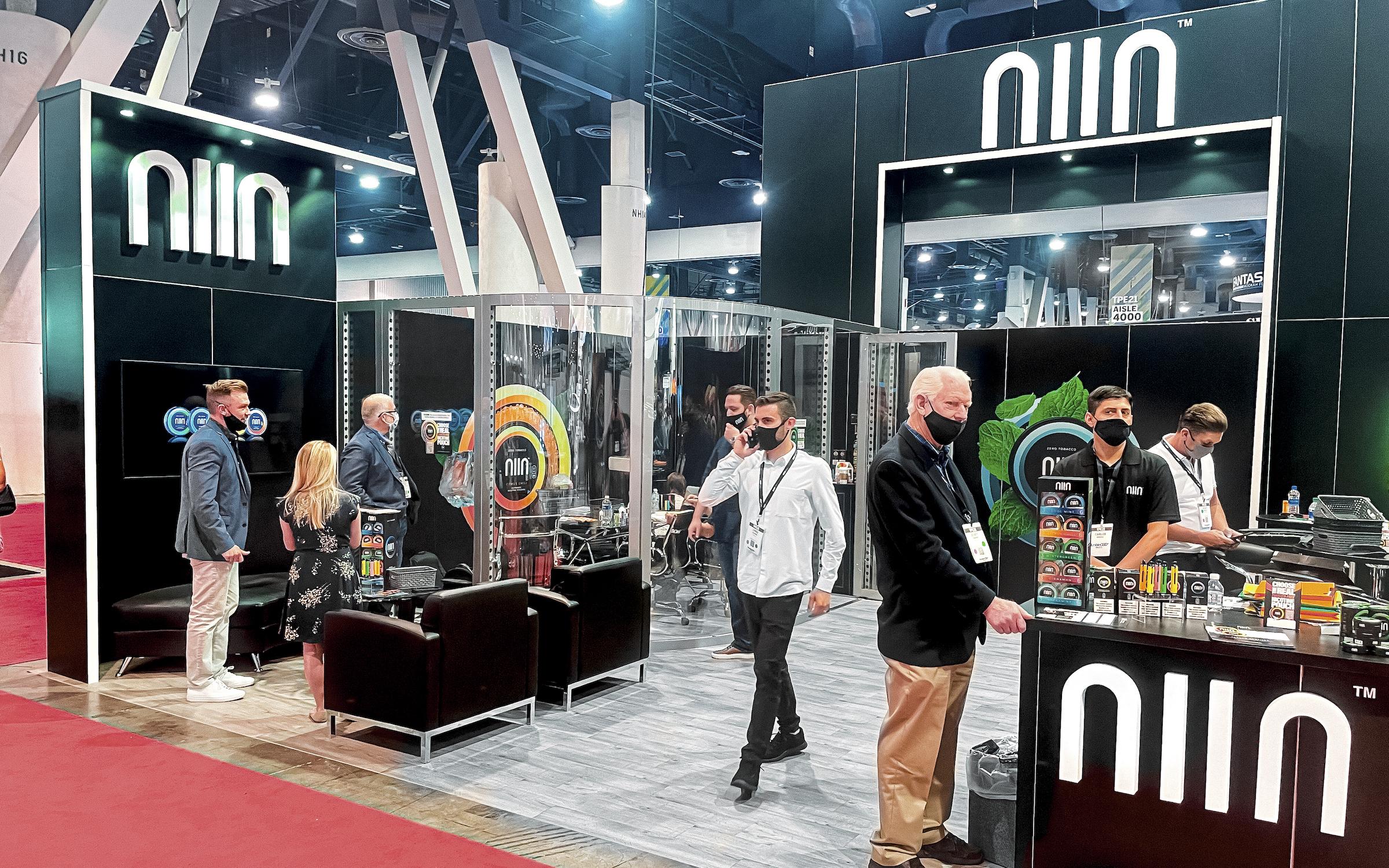 NIIN Showcases Zero Tobacco Product Lineup at Tobacco Plus Expo in Las Vegas